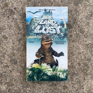 Vintage Land of the Lost VHS